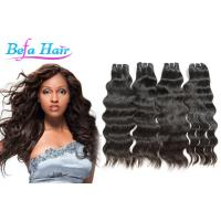 Wholesale Soft Smooth Natural Wave Indian Virgin Human Hair wefts 3.3oz-3.5oz / pcs from china suppliers