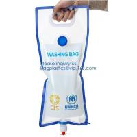 China 5L BPA Free Collapsible Water Bottle Foldable plastic Water Bag for Promotional/Camping/Climbing/Picnic/BBQ bagease pack on sale