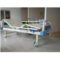 Wholesale Spray Steel 2 Cranks Manual Hospital Bed With ABS Headboard And Footboard from china suppliers