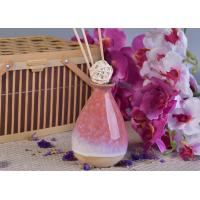 Wholesale 330ml Pink Glazing Ceramic Aromatherapy Oil Diffuser Bottle for Home Fragrance from china suppliers