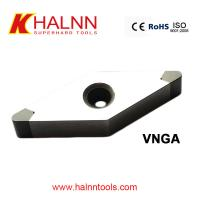 Finish Turning Synchronous gear sets with Halnn PCBN insert BN-H11 VNGA for sale