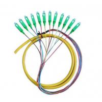 China Multicore Sc FC LC St Patch Cord / Fiber Optic Pigtail For Telecom / Network on sale
