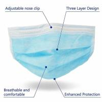 Wholesale Anti Virus 3 Ply Medical Face Mask Advanced Foldable Structure Techniques from china suppliers