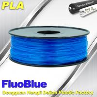 Wholesale Fluorescent Blue 3D Printer Filament  PLA 1.75mm / 3.00mm 1.0KG / roll For Markerbot from china suppliers