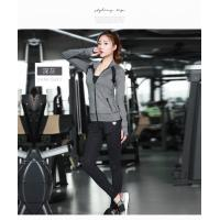 Wholesale Light Weight Womens Sports Coat , Ladies Sports Coats Long Sleeve Zipper Front from china suppliers