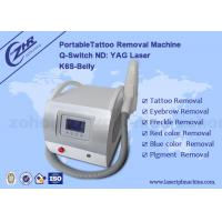 China Permanent Laser Q Switched Nd Yag Tattoo Removal Equipment 1064nm/532nm/1320nm on sale