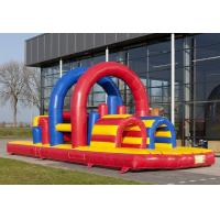 Wholesale 0.55mm PVC Tarpaulin Inflatable Obstacle Course With Air Blower from china suppliers