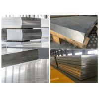 Wholesale Hard Thick Flat Aluminum Sheet , Alloy 7075 Aluminum Sheet Material For Automobile from china suppliers