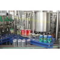 Wholesale Carbonated Drink Beverage Can Filling Machine PLC Control For Aluminium Cans from china suppliers