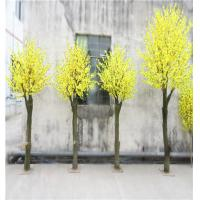 Wholesale artificial pink cherry blossom tree wedding flower tree home decoration artificial bonsai from china suppliers