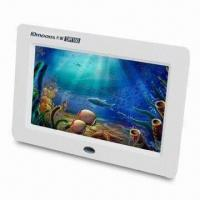 Wholesale Digital Photo Frame with Picture and Video Zoom, Supports USB Flash Disk from china suppliers