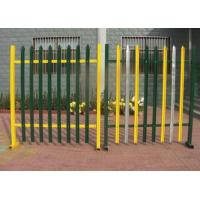 Wholesale European D W Head Metal Palisade Fencing For Power Plants / Substations from china suppliers