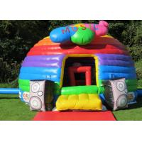 Wholesale Playground Inflatable Bouncer For Kids , Colorful Adult Baby Bouncer With Logo Printing from china suppliers