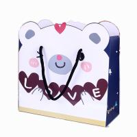 Wholesale OEM cheap storage toy paper shopping bag custom printing China factory from china suppliers