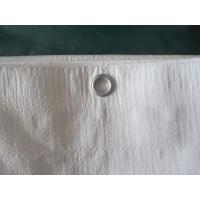 300gsm white color finished poly tarp 2 x 3m for sale