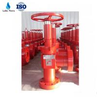 """Wholesale API 3 1/8"""" 5000PSI Adjustable Choke Valve for Wellhead from china suppliers"""