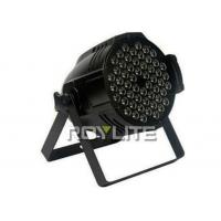 Wholesale Super bright 54 x 3W RGBW Color DMX stage LED Par Cans 64 , LED Wash Lights from china suppliers