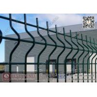 Wholesale 1.8m height X 3.0m Width PVC coated Welded Wire Mesh Fence Panels from china suppliers