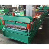 China 910 Type Wall Sheet Roll Forming Machine 380v 50hz 3 Phase 7-12m/Min Working Speed on sale