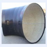 China ceramic lining wear-resistant pipe elbow on sale