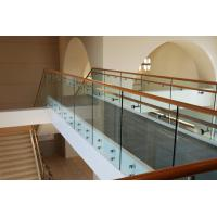 Wholesale Stair Standoff bracket frameless tempered glass railing Easy Installing Design from china suppliers