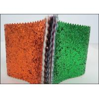 Wholesale Synthetic Leather Multicolor PU Glitter Fabric For Wallpaper Shoes And Bags from china suppliers