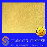 China Wear Resisting Basketball Pvc Synthetic Leather For Ball , Environmental Protection on sale