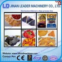 Wholesale Low consumption doritos tortilla chips nacho corn chips process line from china suppliers