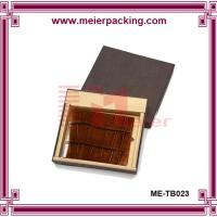 Wholesale Wallet paper papckaging box/High end cardboard paper storage box ME-TB023 from china suppliers
