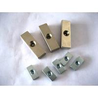 Wholesale block ndfeb magnet with screw hole from china suppliers
