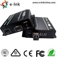 China 1080P HDMI KVM Ethernet Over Fiber Extender Real Time Transmission 2 Years Warranty on sale