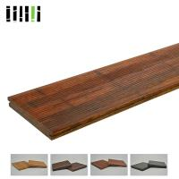 China Outdoor High Density 1220kg/m³ Bamboo Flooring Tiles Eco Friendly With Fine Water Resistance for sale