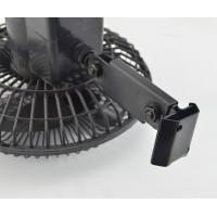 Quality 6 Inches Oscillating Car Fan DC 12V , Metal + Plastic for sale