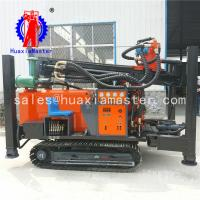Wholesale FY260 crawler type pneumatic well drill machinery follows 260 meters water well track pneumatic DTH rig while drilling from china suppliers