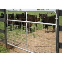 Wholesale Fully Welded Hot Dipped Gal. Farm Steel Gates , Liivestock Fence Panels from china suppliers