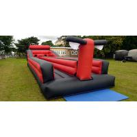 Wholesale 2 Lane Inflatable Bungee Run Race Outdoor Inflatable Games For Competition from china suppliers