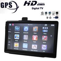 Quality 7 Inch 800x480 HD GPS Car Navigation System With FM AV Free Maps for sale