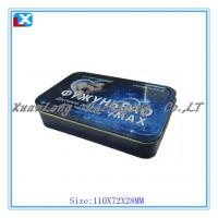 Quality rectangular small mint tin can wholesale for sale