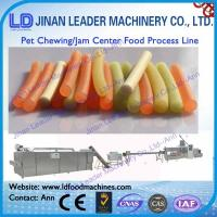 Wholesale Automatic Chewing Jam Center Pet Food Making processing line machine from china suppliers