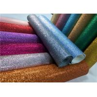 """Wholesale Decoration 50meters One Roll PU Glitter Fabric Synthetic Leather Material With 54"""" Width from china suppliers"""