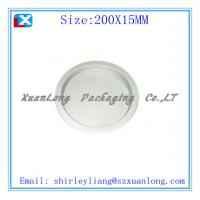 Quality round fruit tin tray suppliers for sale