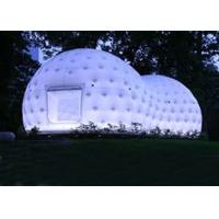 Wholesale Ultra Light Dome Inflatable Tent , Inflatable Tea House Tent With Led Light from china suppliers
