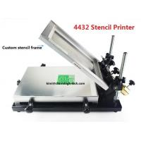 Wholesale Desktop SMT Manual Pick And Place Machine 320*440mm Stencil Printer Silk screen printer from china suppliers
