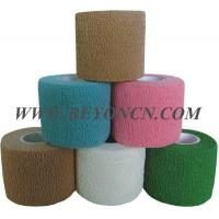 Wholesale Hand Tear Self - adhesive Cotton Elastic Bandage To Control Varicose Veins from china suppliers