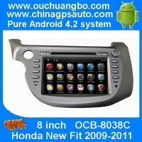 Wholesale Ouchuangbo Capacitive Android 4.2 GPS Navigation DVD Stereo for Honda New Fit 200-2011 USB from china suppliers