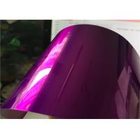 Epoxy Polyester Candy Purple Powder Coat Offering High Exterior Stability for sale