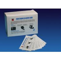 Wholesale ATM CR80 Flat Cleaning Card , Pre Saturated Atm Cleaning Cards With IPA Solution from china suppliers