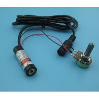 Wholesale output power adjustable 630nm 5mw red line laser module from china suppliers