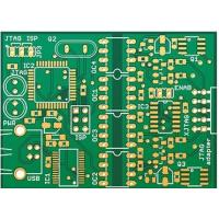 Wholesale Quick Turn Circuits Double Layer PCBFR4 Copper Clad Board 1 OZ Copper UL RoHS from china suppliers