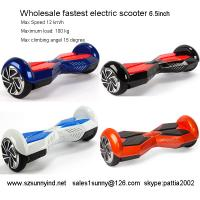 Wholesale electric scooter adults two wheels two wheel hoverboard for sale from china suppliers